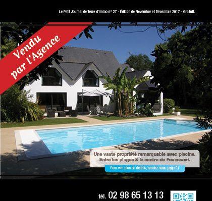 « Le petit journal Terre d'Immo » N°27 – Edition de Novembre & Décembre 2017.