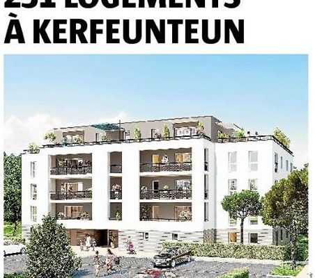 Le Télégramme, Quimper : Chambre d'agriculture. Bientôt 231 logements à Kerfeunteun !