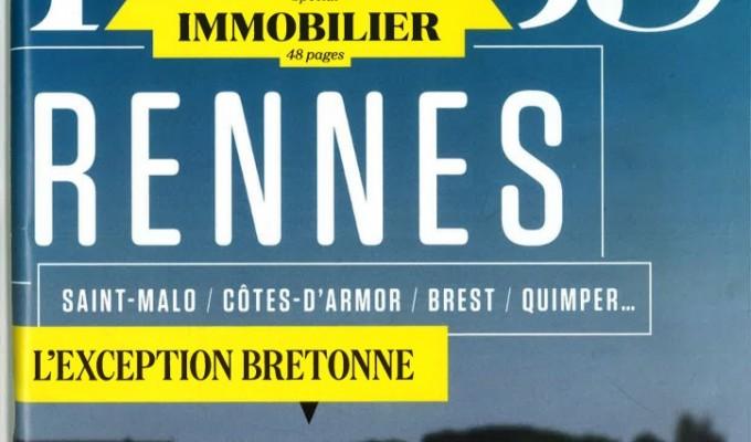 Interview de Christophe GUEGUEN dans le Magazine «Le Nouvel Observateur» Spécial Immobilier Quimper- Septembre 2015