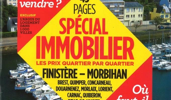 Article dans le Nouvel Observateur de Août 2013. Prix Spécial Immobilier.