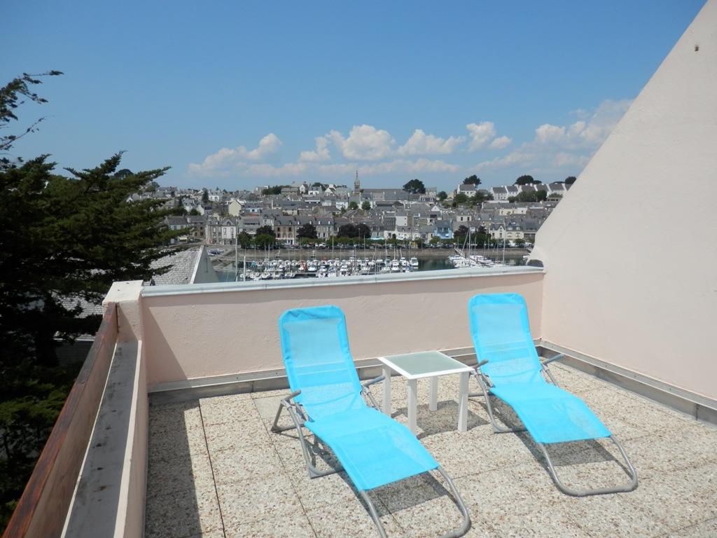Vue exceptionnelle port de plaisance appartement duplex for Cherche appartement avec terrasse