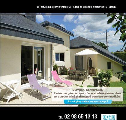 « Le petit journal Terre d'Immo » N°20 – Edition de Septembre & Octobre 2016