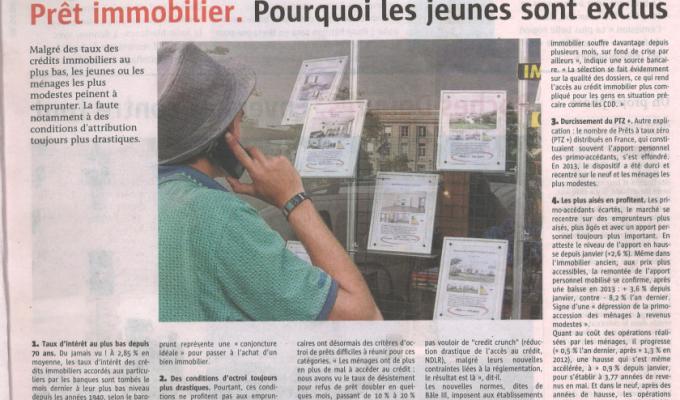 Article du Télégramme du Jeudi 5 Juin 2014